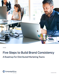 Five Steps to Build Brand Consistency cover