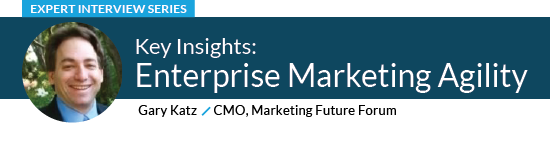 Enterprise Marketing Agility with Gary Katz