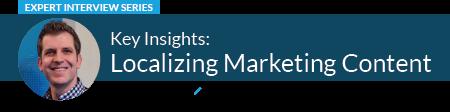Localizing Marketing Content Frederik Vollert
