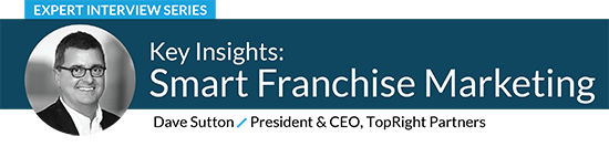 Smart Franchise Marketing by Dave Sutton, President & CEO of TopRight Partners