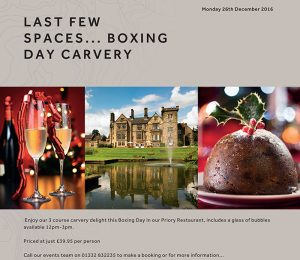 Marriott Boxing Day Ad