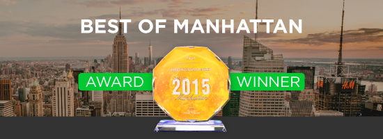 2015 Best of Manhattan Award Winner